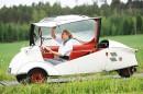 Mökkimatkojen koteloskootteri – Messerschmitt KR 200