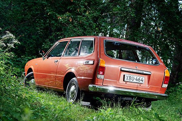 Perusauton tilapainos – Toyota Corolla Wagon