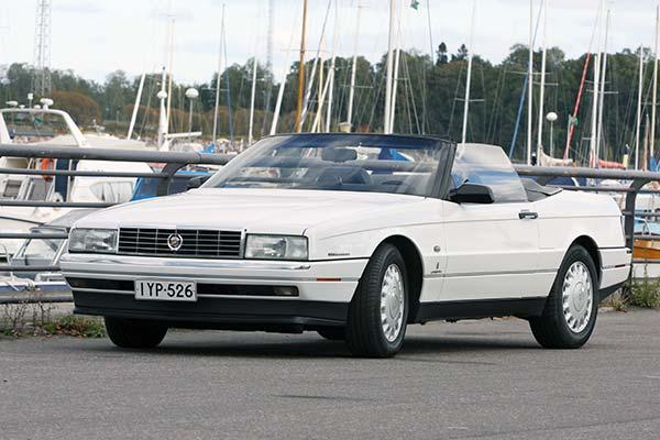 Cadillac Allante '93 - Seitsemän vuoden herruus