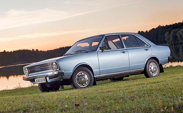 Audi 80 S '74 - Harvan kansanauto