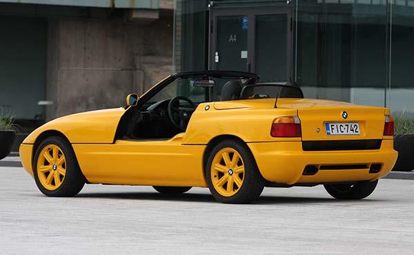 BMW Z1 '91 - Konsepti joka karkasi