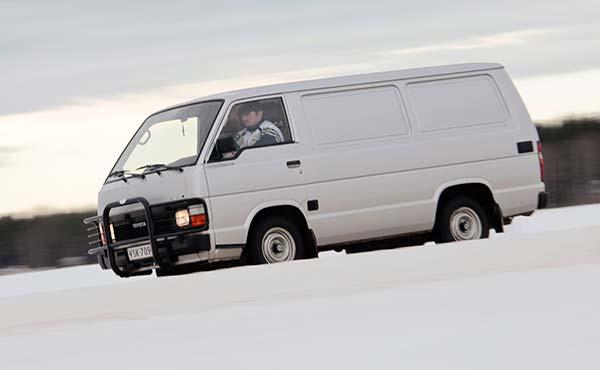 Toyota Hiace '87 - Legenda jo eläessään