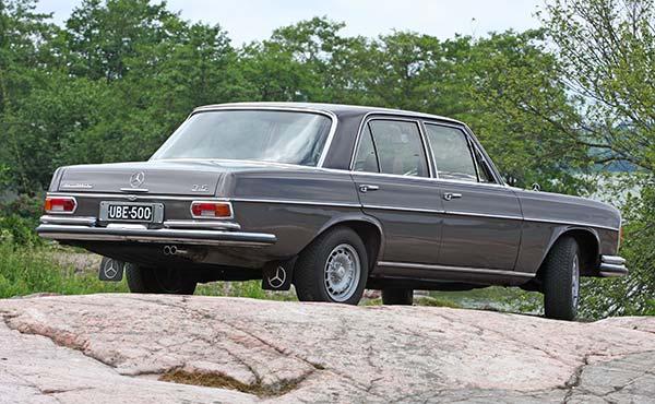 Mercedes-Benz 280SE 3.5 '72 - Vanhaa tuontia
