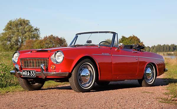 Datsun Fairlady '63 - Leideistä vanhin