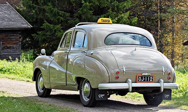 Austin A70 '52 - Mukavasti vanhanaikainen