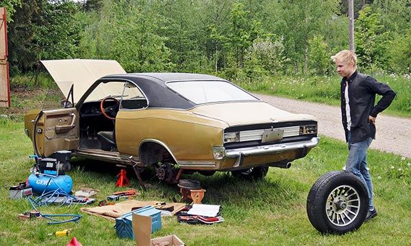 Opel Commodore GS/E '71 - Teiden kunkun paluu