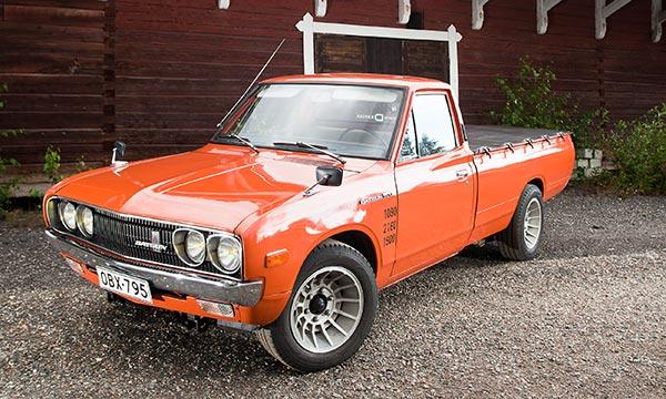 Datsun 1500 Pick-up '75 - Rajamiehen Obelix