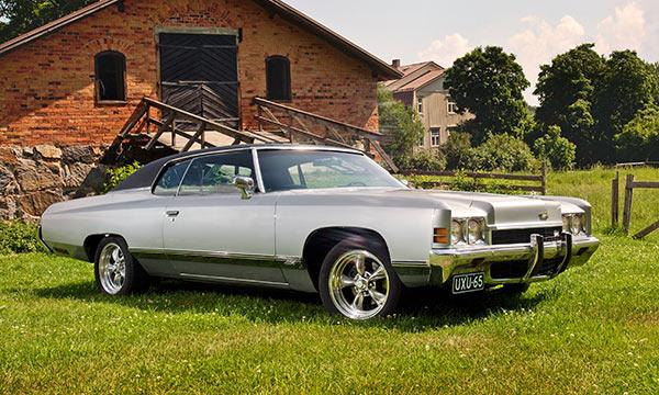 Chevrolet Caprice '72 - Pääkonsulin valinta