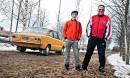 Datsun 1200 De Luxe Finn '72 - Pappia kyydissä
