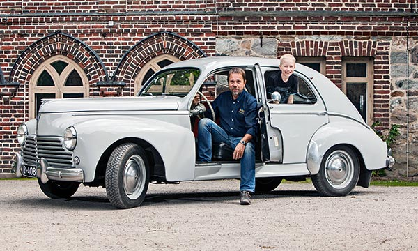 Peugeot 203 Berline ´58 - Vanha vahva ranskalainen