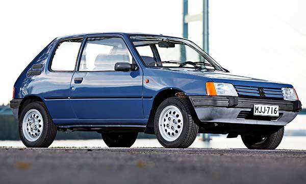 Peugeot 205 XL '88 – Säästeliäästi
