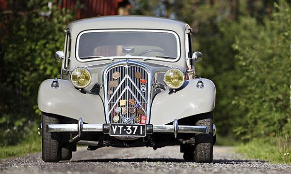 Citroën B11 Sport '54 – Huollosta hankittu