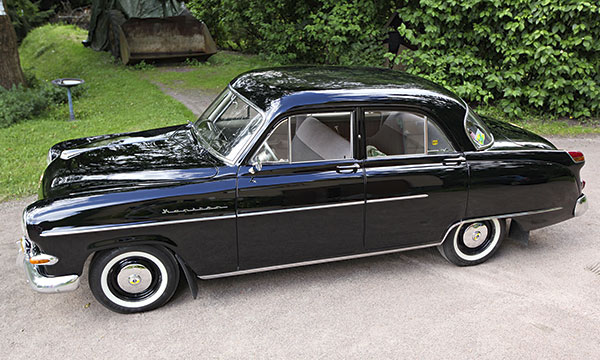 Opel Kapitän '55 – Kapteeni Bostonilta