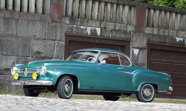 Borgward Isabella Coupe '59 – Hurmaavaa kauneutta