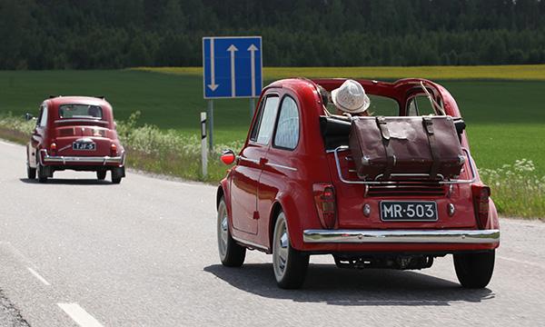 Kääpiöautojen kesäretki