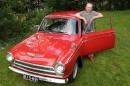 Vuoren varmasti Fordilla – Harrastaja Sakari Vuori & Ford Cortina GT '66