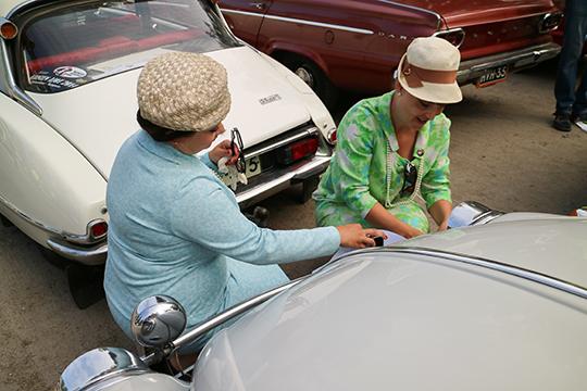 Naisten automobiiliajot, Kangasala