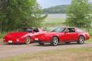 Targa-makupalat – Nissan 300ZX Turbo '88 & Pontiac Firebird GTA '87