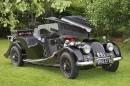 Aurinkopäivien avoauto – Morgan Plus 4 '60
