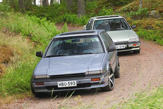 Haluttua tavaraa – Honda Accord 2.0 EXi '86 & Accord Aerodeck 2.0 EXi '87