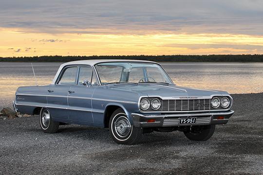 Aikaa seuraten – Chevrolet Impala '64