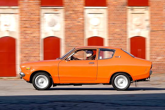 Vanhat eväät, uudet linjat – Datsun 120 Y '74