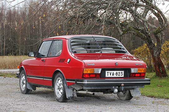 Pidetty perusmalli – Saab 99 GL '84
