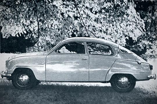 Sportti-Saabeja ja vauhti-Volvoja